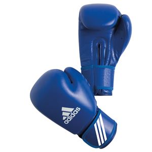 Adidas AIBA Approved Boxing Gloves 10 OZ Blue